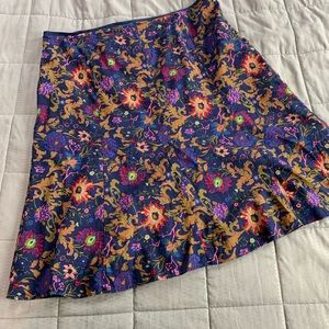 Liz Claiborne Skirts - SALE Liz Claiborne Blue Floral A-lone Skirt Sz 18W